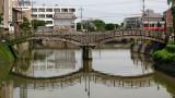 Stone bridge over the Chōda-gawa