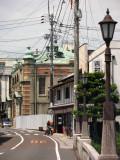 View down the old street off Tatsumi-yagura