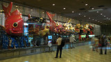 Festival floats in the Hikiyama Exhibition Hall