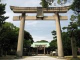 Gate into Karatsu-jinja