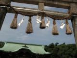 Below the inner torii of Karatsu-jinja