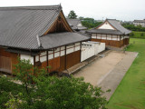 Saga-jō's restored palace from the Tenshu-dai