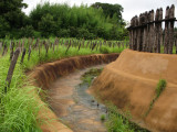 Reconstructed Yayoi period moat