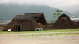 Reconstructed Yayoi-era huts
