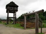 Watchtower and gate into Minami-naikaku