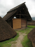 Path to a smaller hut