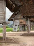 Between storehouses in Naka-no-Mura