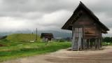 Storage hut and Kita-funkyubo beyond