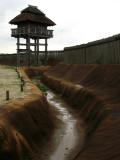Moat and watchtower in Kita-naikaku