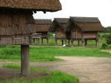 Storage huts in Kurato-ichi