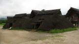 Low-lying huts in Kurato-ichi