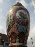 Porcelain vase near Imari station