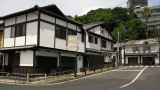 Traditional-style building in central Hirado