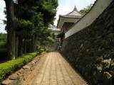 Entrance slop to Hirado-jō