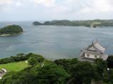 View over the strait towards Kyūshū