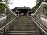 Steps up to the Matsuura Historical Museum