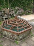 Chinese-style hexagonal well