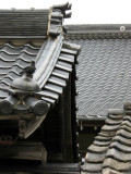 Roof ornament in the Hamasaki district