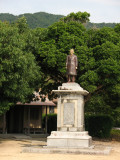 Statue of Itō Hirobumi, Japan's first Prime Minister