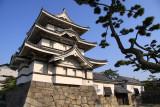 Beside the west flank of the Tsukimi-yagura