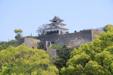 Marugame Castle and its wee donjon