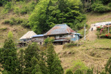 Metal-roofed old farmhouse near Kyōjō