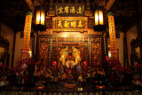 Altar within the Main Hall, Baoan Temple