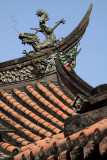 Roof detail, Yinshan Temple