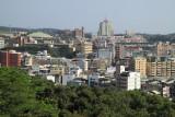 Modern sprawl off the edge of Baguashan