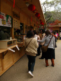 Food stall in the tourist center
