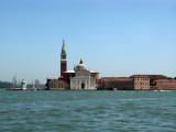 Island of San Giorgio Maggiore from afar