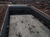 Shuffling shapes on Piazza San Marco