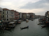 Greying skies over the Grand Canal
