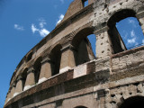 Beside the Colosseum
