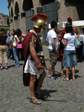 Gladiator on the loose