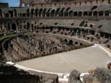 Hypogeum and rebuilt arena floor
