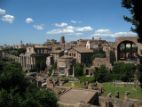 View over the Forum from the edge of the Palatine