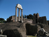 Ruins of the Temple of Castor and Pollux