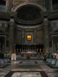 Main altar within the rotunda