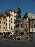 Statue of Giordano Bruno on Campo de' Fiori