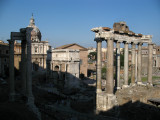 Temple of Saturn and Arch of Septimius Severus