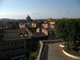 View over Rome from the Musei Capitolini
