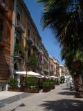Sidewalk along Corso Emanuele