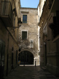 Entering Barivecchia