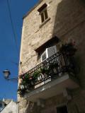 Private balcony on the edge of Barivecchia