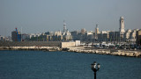 Eastern waterfront of Bari from the old town