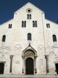 Front facade of the basilica