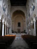 Interior of the basilica