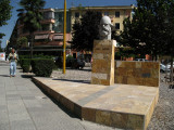 Bust of KLA Commander Adem Jashari