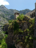 Under the castle and cliff edge